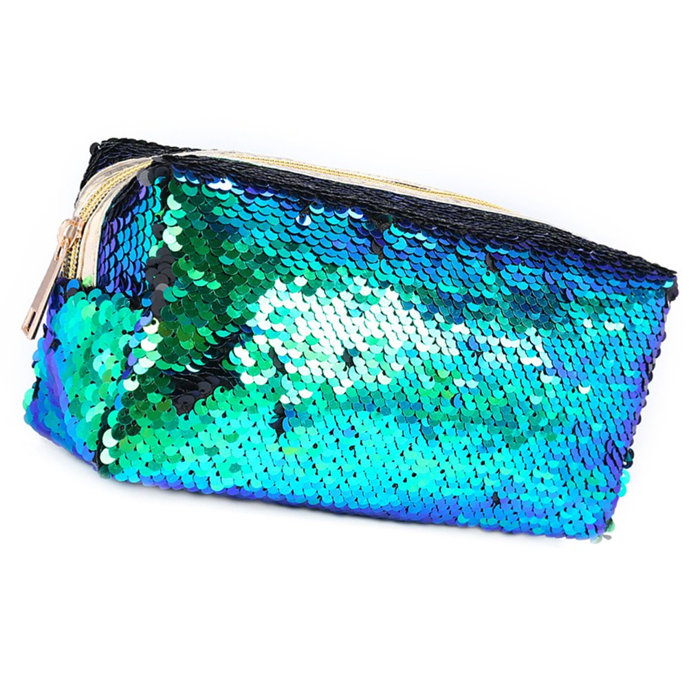 c736ea3eb3c Amazon.com: OULII Fashion Sparkly Sequin Clutch Bag Handbag Lady Party Evening  Clutch Bag Purse Wallet for Women (Shiny Green and Black): Clothing