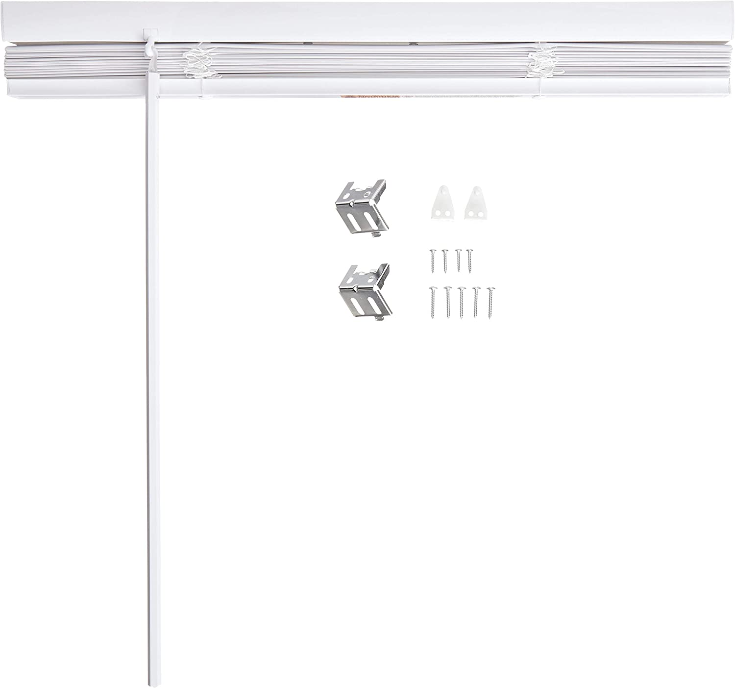Lotus /& Windoware Cordless 1 Vinyl Blind 58 x 48 White