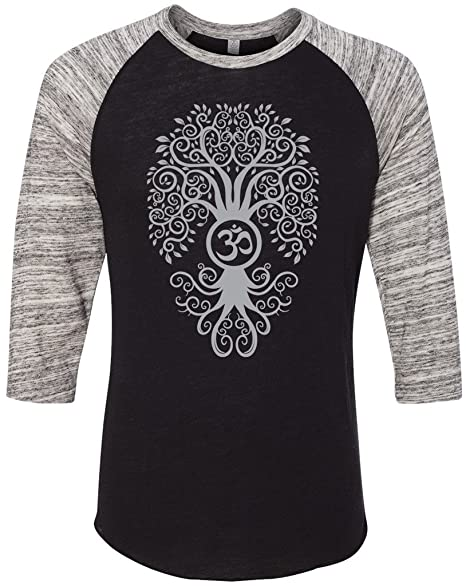 Yoga Clothing For You Mens Bodhi Tree 3/4 Sleeve Tee