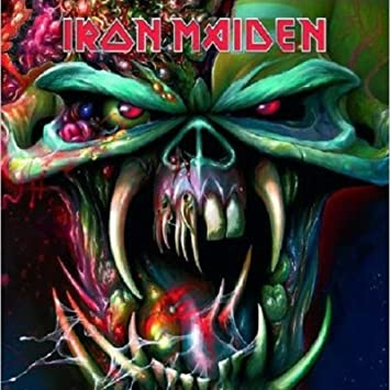 Amazon Iron Maiden Greeting Birthday Any Occasion Card The