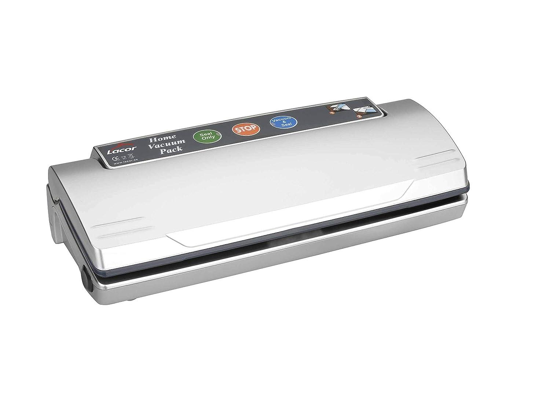Lacor - 69050 - Máquina vacío Home 110W - Gris