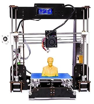 Win-Tinten A8 Upgrade High Precision 3D Printer Reprap Prusa I3 ...