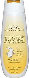 Babo Botanicals Moisturizing Baby Shampoo & Wash