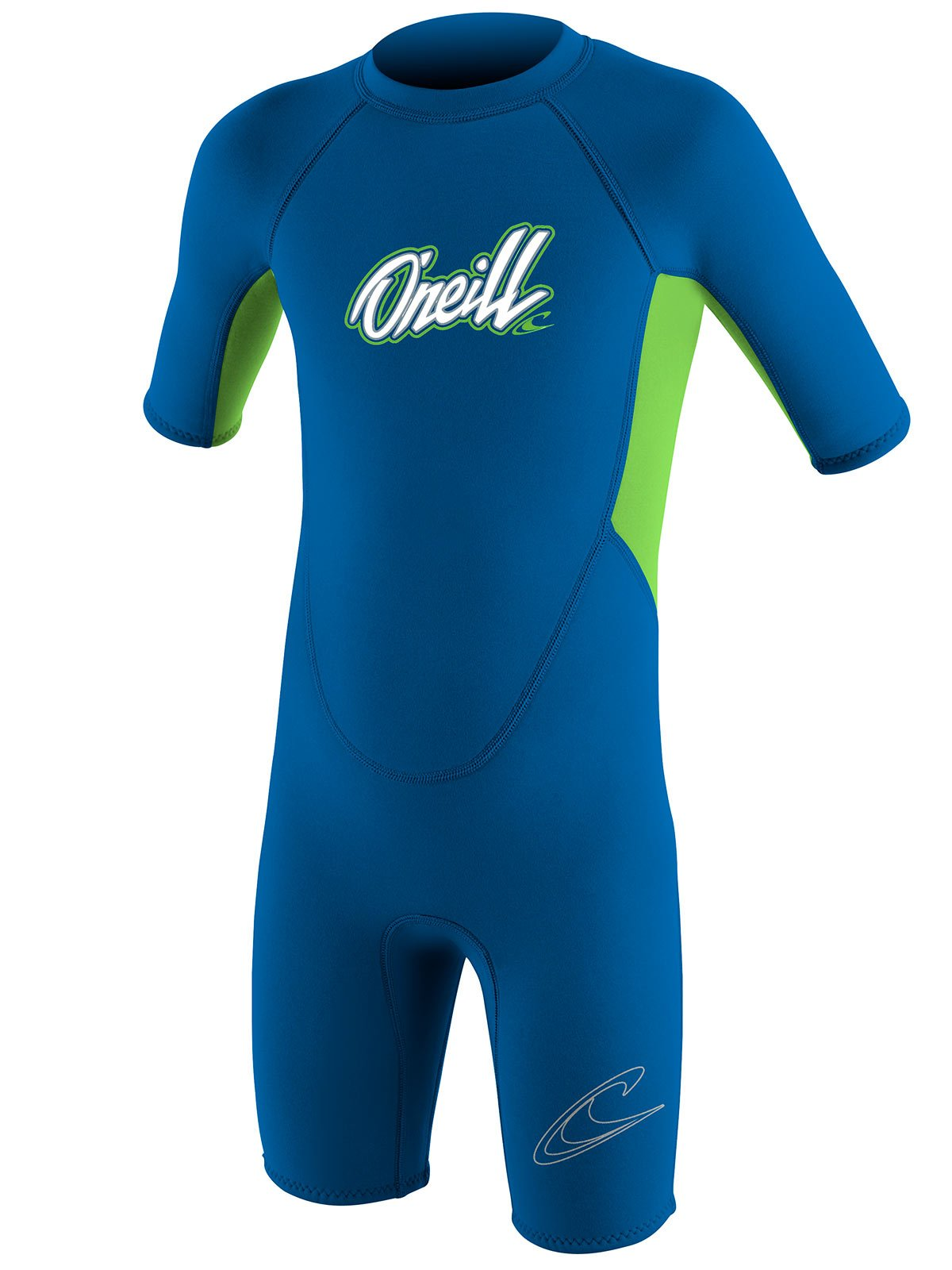 O'Neill Reactor toddler shorty wetsuit Youth 3 Ocean/dayglo (5127B) by O'Neill Wetsuits