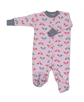 43dc7b0c3 Amazon.com  New Jammies Organic Cotton Footie  Clothing