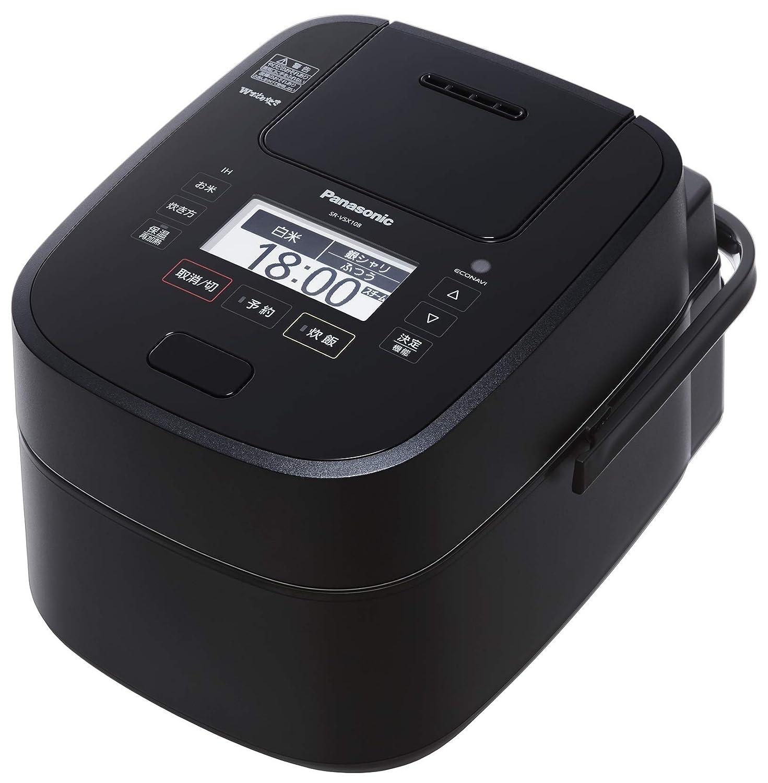 最低価格の パナソニック 5.5合 炊飯器 圧力IH式 Wおどり炊き ブラック SR-VSX108-K 5.5合 ブラック B07BNJNF4C, 蓮田市 1add46b4