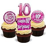 Tortendeko 4 Geburtstag Minnie Mouse 12 Teilig Tortenaufleger Kuchen