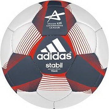 adidas Balón de Fútbol Stabiltrain Size 3 Azul Marino: Amazon.es ...