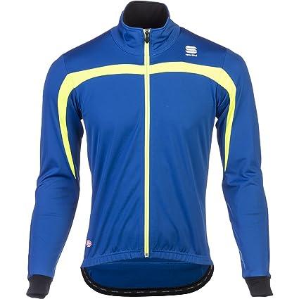 Sportful WS Ascent Blue-Neon Chaqueta 2015, Color Azul ...