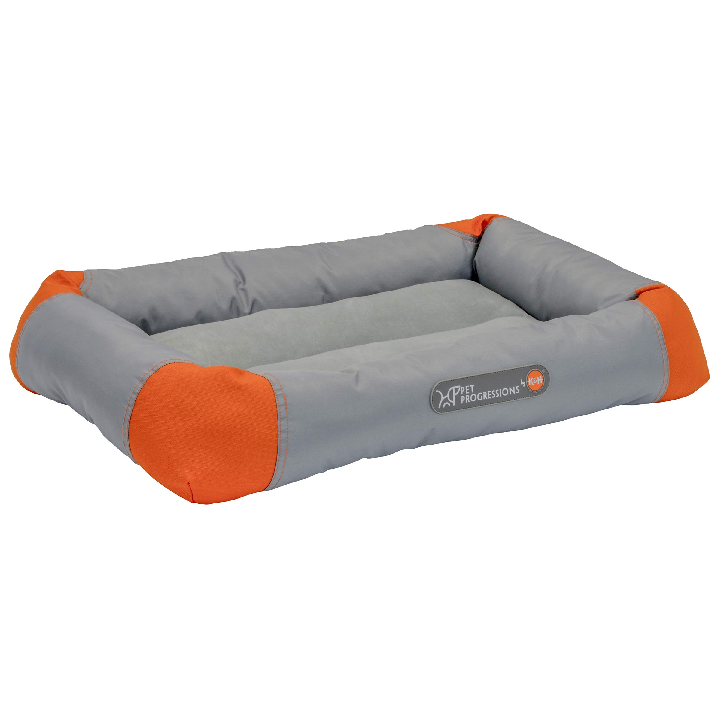 Pet Progressions by K&H Waterproof Puppy Bolster Pet Pad Small Grey - Piddle Proof, Stain & Odor Resistant, and Tear Resistant for Puppies & Adult Dogs by Pet Progressions (Image #3)