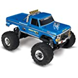 Traxxas 36034-1 Bigfoot No. 1 2WD 1/10 Scale Monster Truck Vehicle, Blue