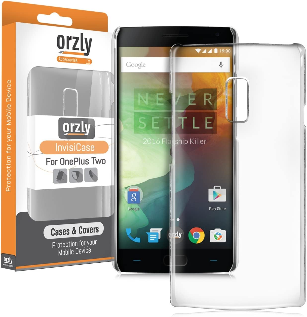 Orzly® - InvisiCase para OnePlus 2 Smartphone/Teléfono Móvil (One ...