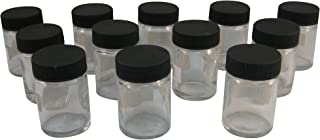 product image for Badger Air-Brush Co. 50-0052B 3/4-Ounce Jar and Cover, Box of 12,Black