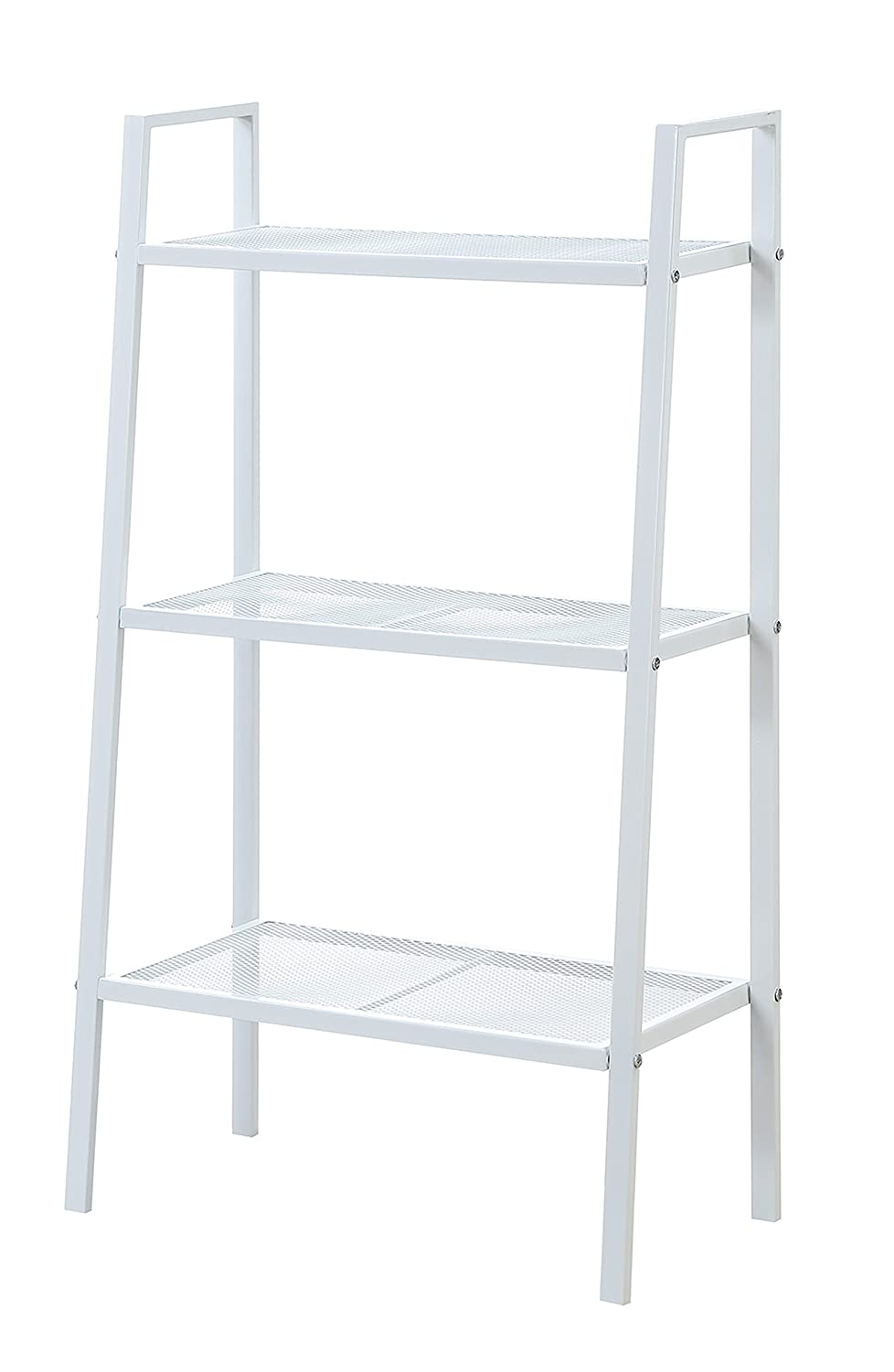 Convenience Concepts Xtra Storage Metal Shelving, 3-Tier, White