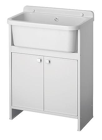 Pila fregadero para exterior beautiful modelo de lavadero for Pilas de lavar con mueble