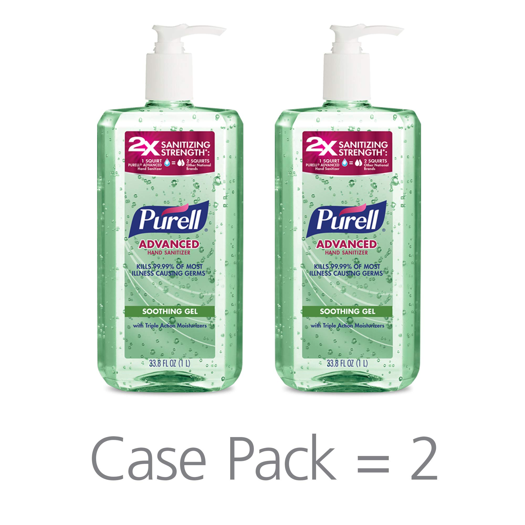 Purell Advanced Hand Sanitizer Soothing Gel For The Workplace