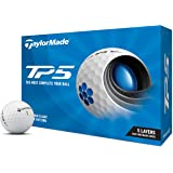 TaylorMade TP5 & TP5x Golf Balls (White, Yellow, Pix)