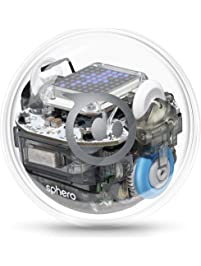 Sphero BOLT: App-Enabled Robotic Ball, STEM Learning and Coding for Kids, Programmable LED Matrix, Bluetooth Connection...