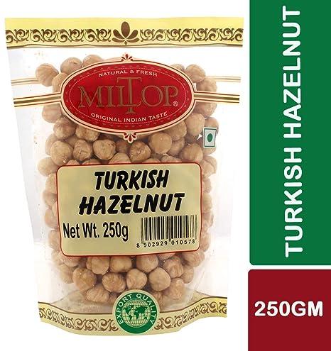 Miltop Turkish Hazelnuts, 250g