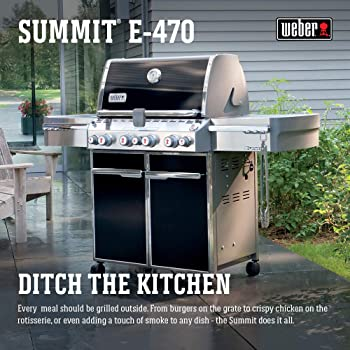 Summit Square 4-Burner Weber Gas Grill