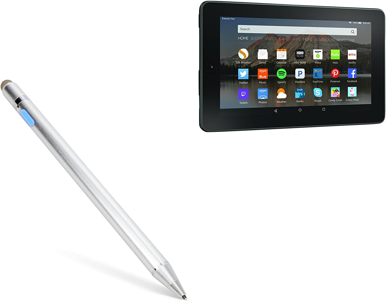 Broonel Black Fine Point Digital Active Stylus Pen Compatible with The Trekstor Surftab Breeze 7.0