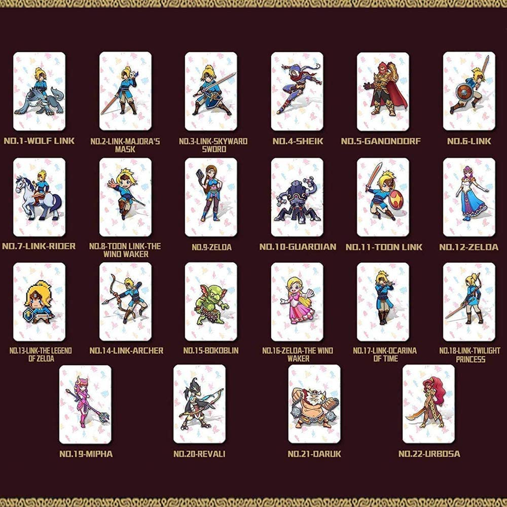NFC Etiqueta de Tarjetas de Juegos Tag Game Cards para the Legend ...