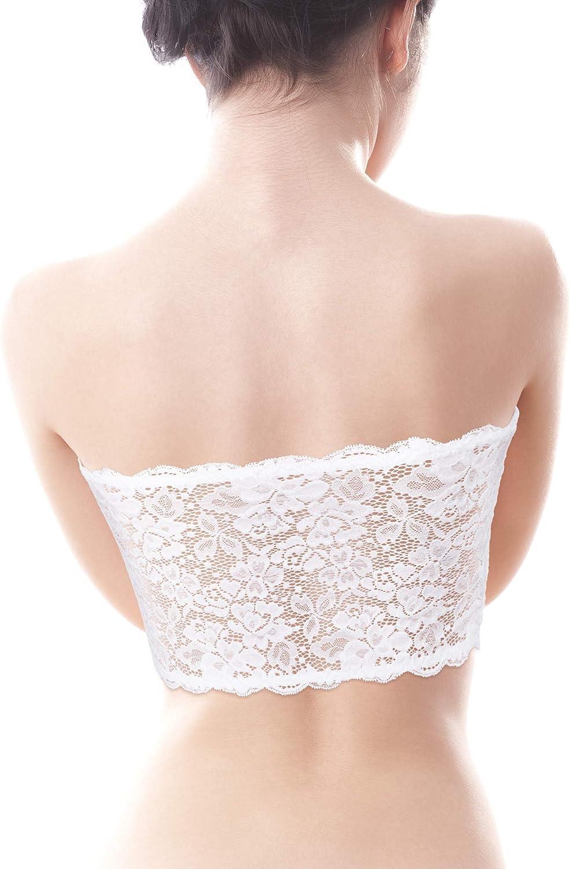 Sets g//s Damen Basic Trägerlos Bandeau Bra  Bustier Top Underwear Soft BHs /&