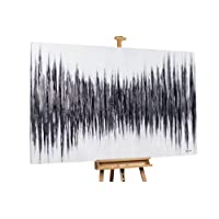 KunstLoft Stravagante dipinto ad olio Drum and Bass' in 180x120cm   Tele originali manufatte XXL design   Decorazione astratti colorato   Quadro da parete in olio arte moderna murale