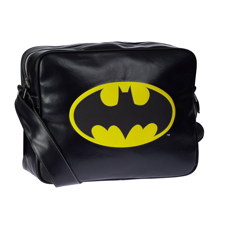 Karactermania Batman Batsignal Sac bandoulière, 35 cm, Noir (Negro) 44106