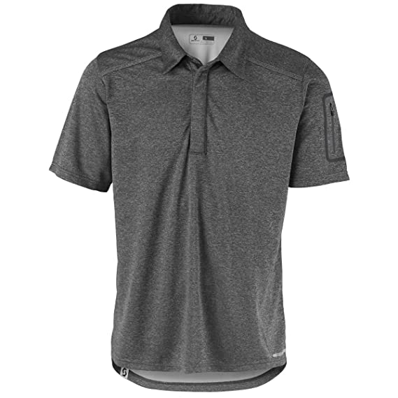 Scott Trail MTN 30 Polo - Camiseta de ciclismo gris 2017, L (50/52 ...