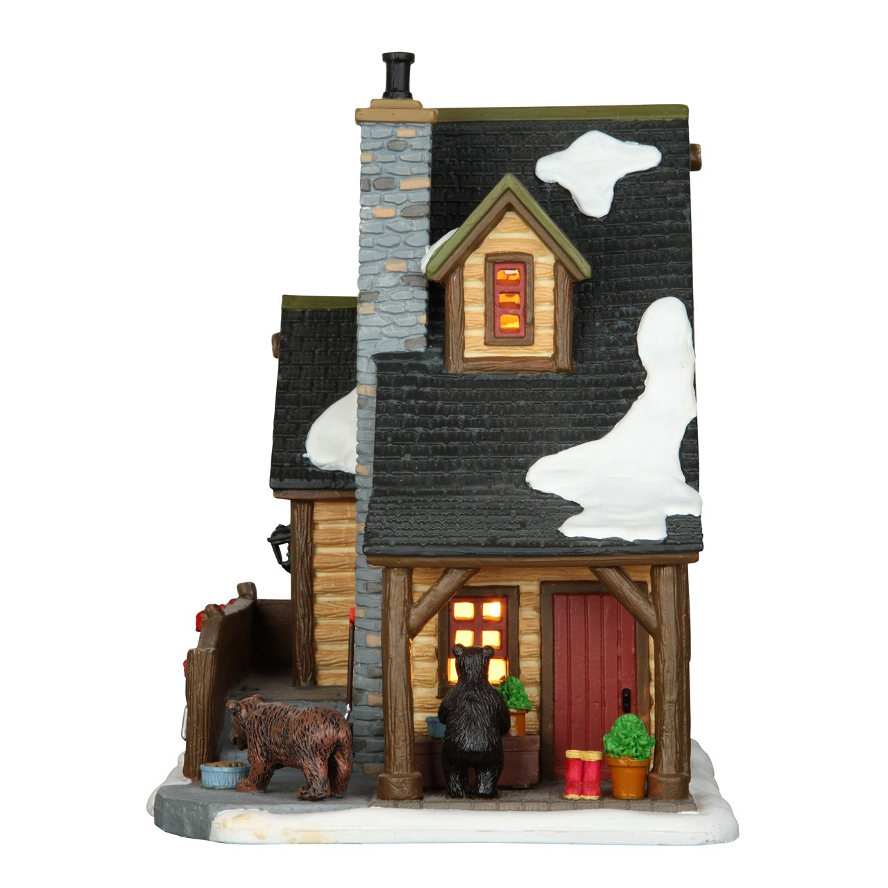 Lemax Village Collection The Owens Cabin #65095
