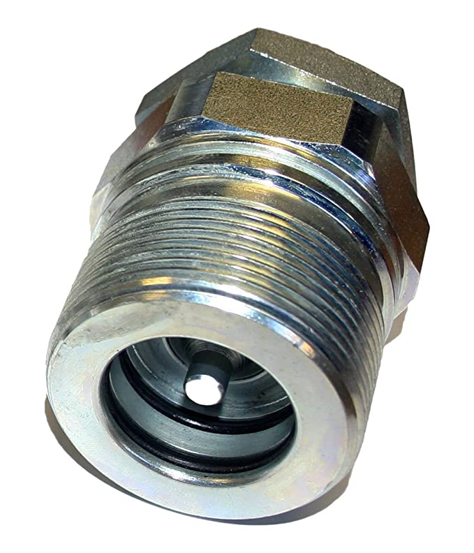 """TIPPER LORRY HGV MANULI HYDRAULICS 1/"""" SCREW TYPE QUICK RELEASE COUPLING SET"""