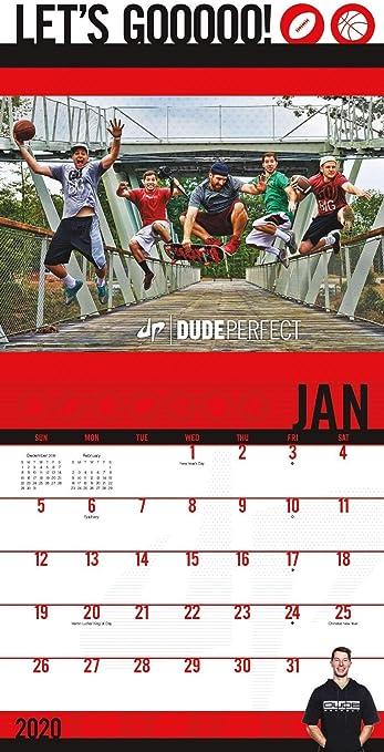 Amazon.com: Dude Perfect Calendar 2020 Bundle - Calendario ...