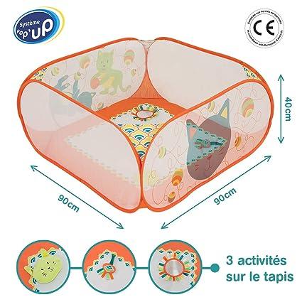 Ludi - 20001 - área de actividades Pop-up - gato: Amazon.es ...