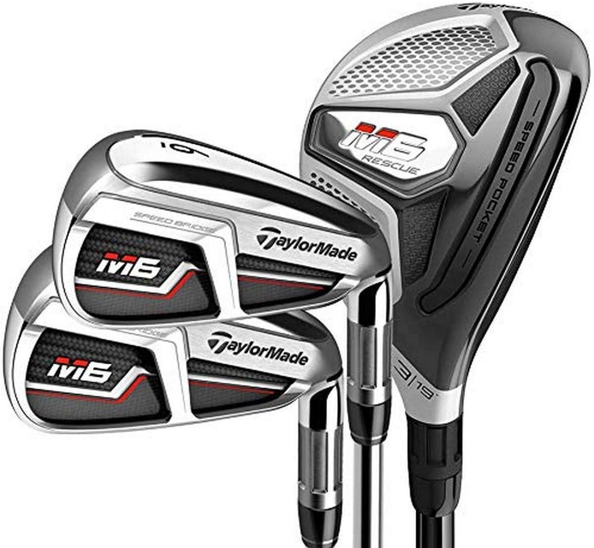 TaylorMade Golf M6 Combo Hybrid-Best senior Iron Set