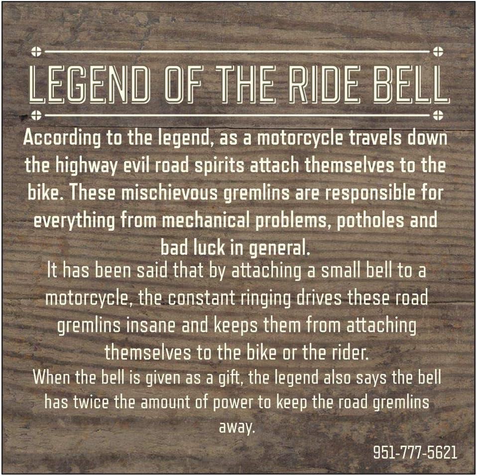 Cross Wing Motorcycle Ride Bell for Harley-Davidson Kawasaki Honda Triumph Indian Suzuki