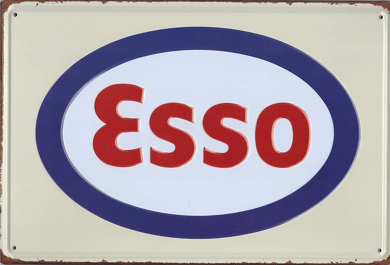 Esso Plaque en t/ôle