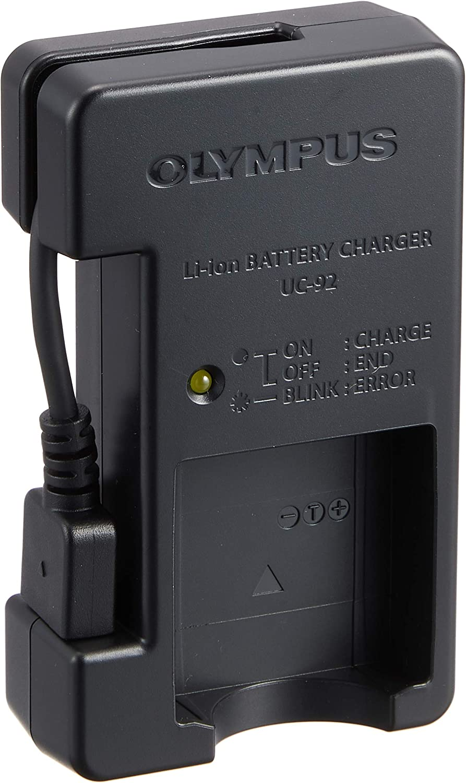 Olympus Uc 92 Lithium Ionen Ladegerät Für Li 90b Kamera