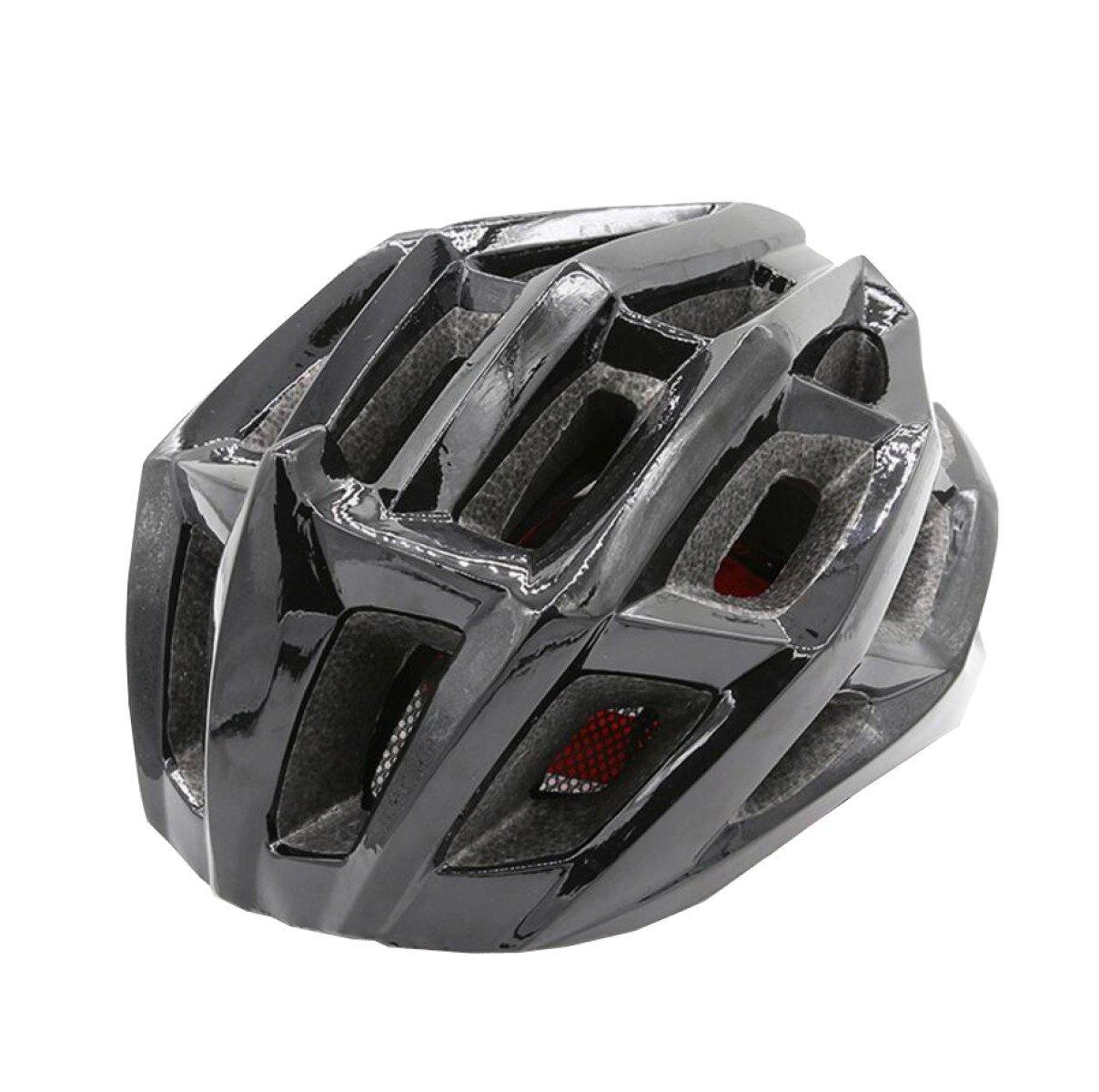Erwachsene Helm Fahrrad Rad Skating Helm Einstellbare Klettern Helm Sportliche Schutzausrüstung,schwarz