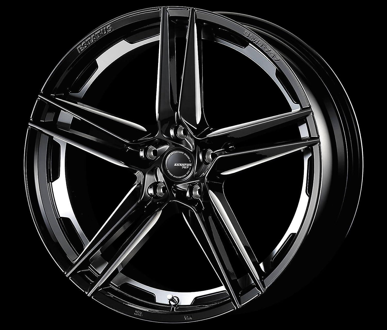 ESTATUS Style-757 (エステイタス スタイル-757) 22インチ 9.0J インセット30 5H/114.3 「ブラックサイドマシニング」 1本 アルミホイール wheel B073F9S3J4 22インチ 9.0J インセット30 5H/114.3 22インチ 9.0J インセット30 5H/114.3