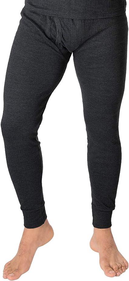 Black Snake Damen Thermounterhose mit Innenfleece Lange Unterhose