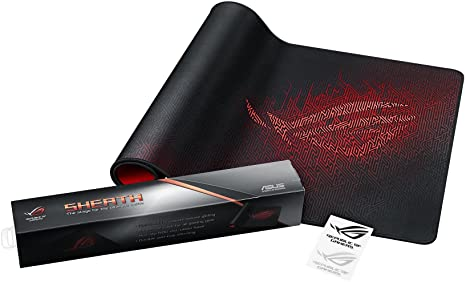 ASUS ROG Sheath Gaming Mouse Pad, Extra-Large