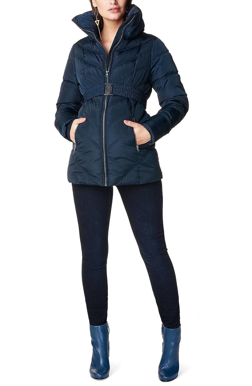 ノッピイーズ アウター ジャケットブルゾン Noppies 'Lene' Quilted Maternity Jacket Dark Blue [並行輸入品] B078NQ2TCL