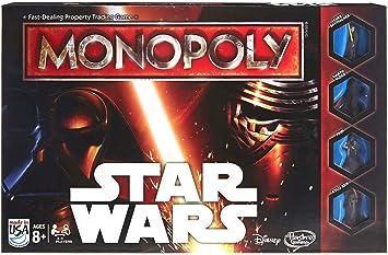Hasbro Monopoly Game Star Wars - Juego de Tablero (Multi, 4 ...
