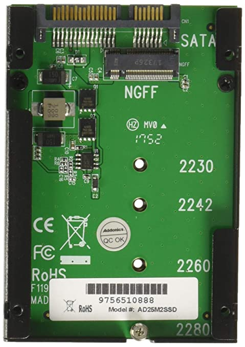 Addonics Storage Controller - Internal Components Other AD25M2SSD