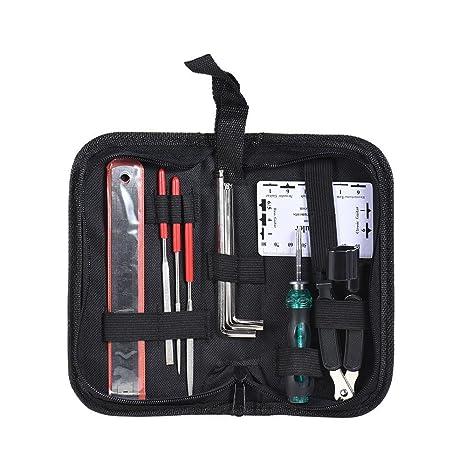 VanMe - Kit de herramientas de reparación de limpieza para guitarra – Luthier Accessories Set de