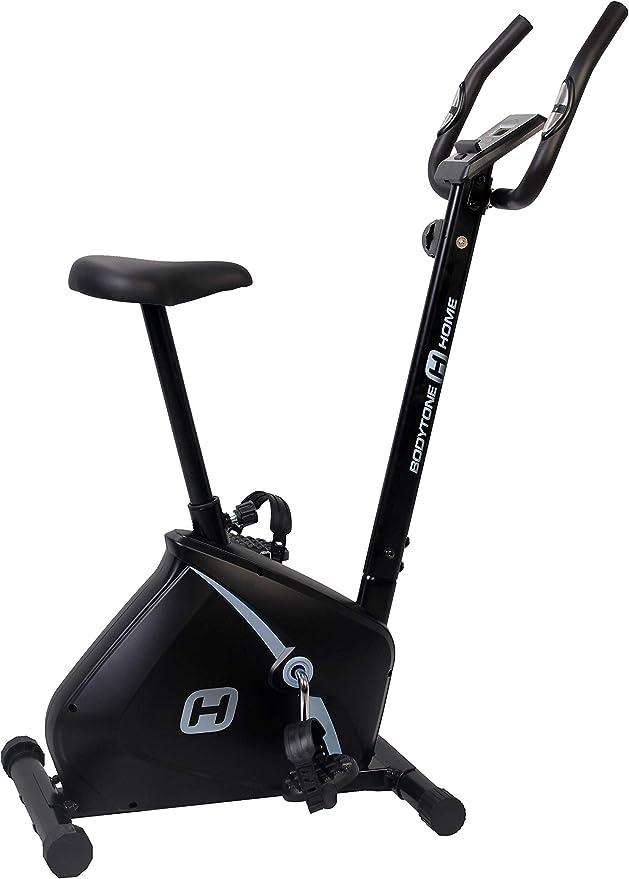 BT BODYTONE - DU15 - Bicicleta Estática para Tus sesiones Fitness en casa - Pantalla Led y Pulsómetro - Peso Máximo Usuario 100 KG.: Amazon.es: Deportes y aire libre