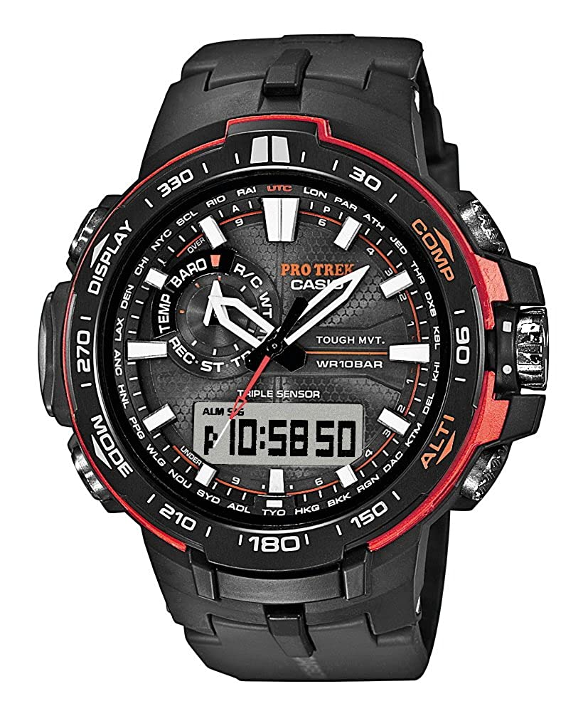 ff51aa8dfa15 Casio Pro Trek Tough Solar PRW-6000Y-1ER Reloj de Pulsera para hombres  Multiband 6   Solar  Amazon.es  Relojes