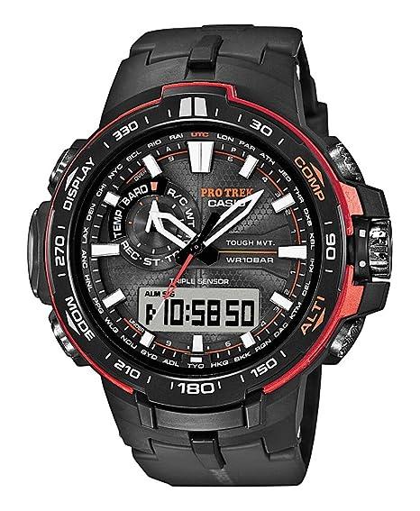 Casio Pro Trek Tough Solar PRW-6000Y-1ER Reloj de Pulsera para hombres Multiband