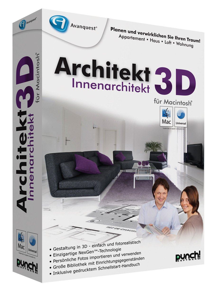 Innenarchitektur programm kostenlos  Architekt 3D Innenarchitekt (MAC): Amazon.de: Software